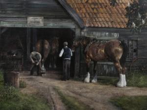 The Blacksmith, T O Sprigs - SOLD