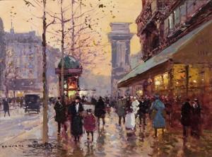 Boulevard St Denis, Paris