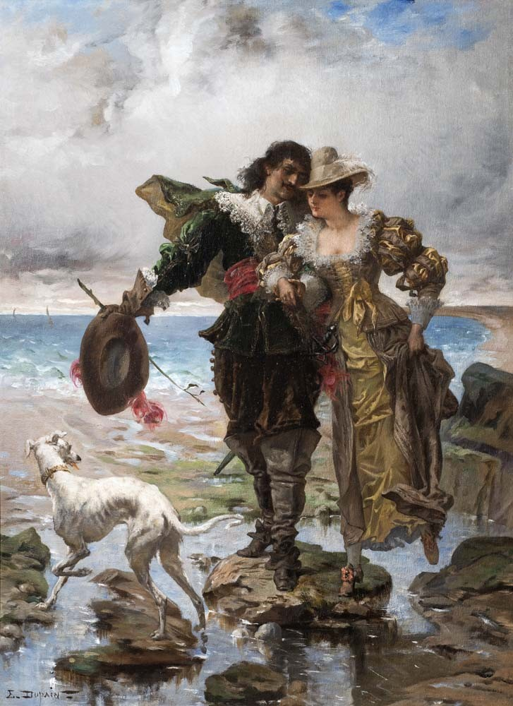 Romance on the Sea Shore