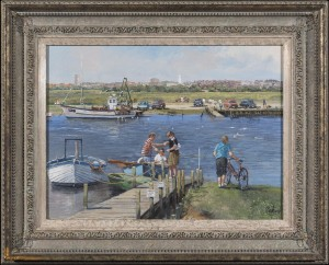 The Ferry at Walberswick, Suffolk - SOLD