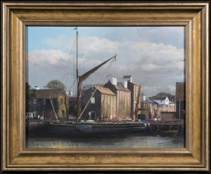The Edith May Barge & Snape Maltings - SOLD