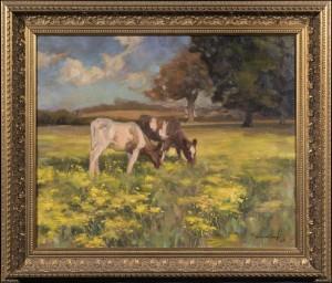 Cows in a Norfolk Landscape