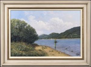 The Keen Fisherman
