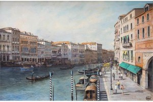 Summer afternoon in Venice - SOLD