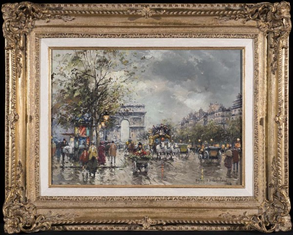 Paintings By Antoine Blanchard Paris For Sale Famous
