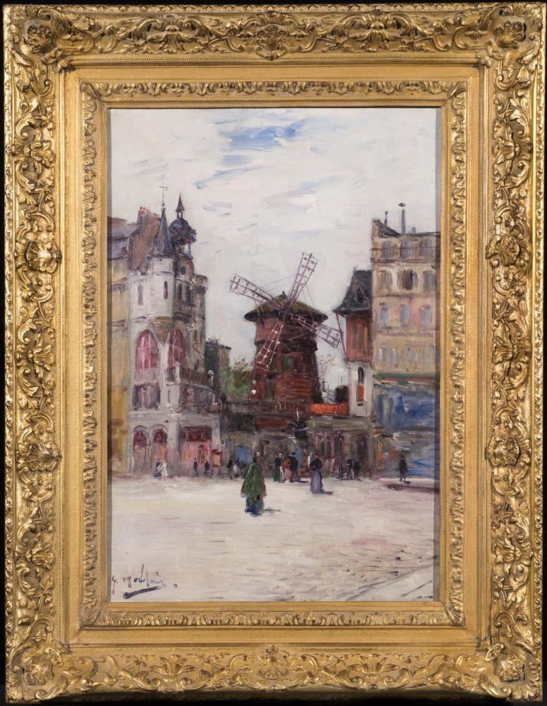 The Moulin Rouge, Paris