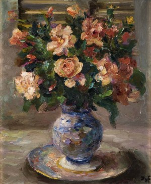 Blooms in a Vase - SOLD