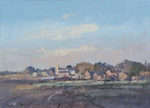 A Sunlit Norfolk Village