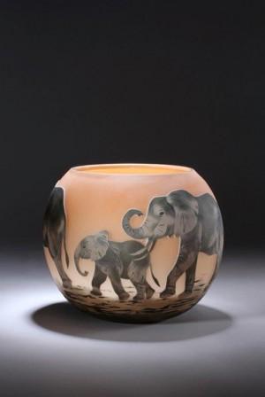 Elephant Bowl Dated 2012
