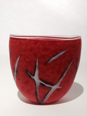 Blown in the Wind Vase - SOLD