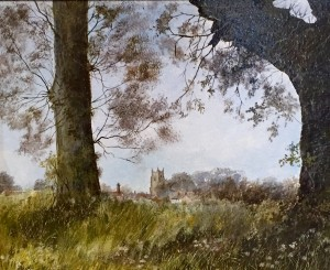 A view of Dedham Church - SOLD