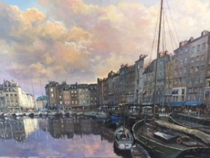 Honfleur Harbour - SOLD
