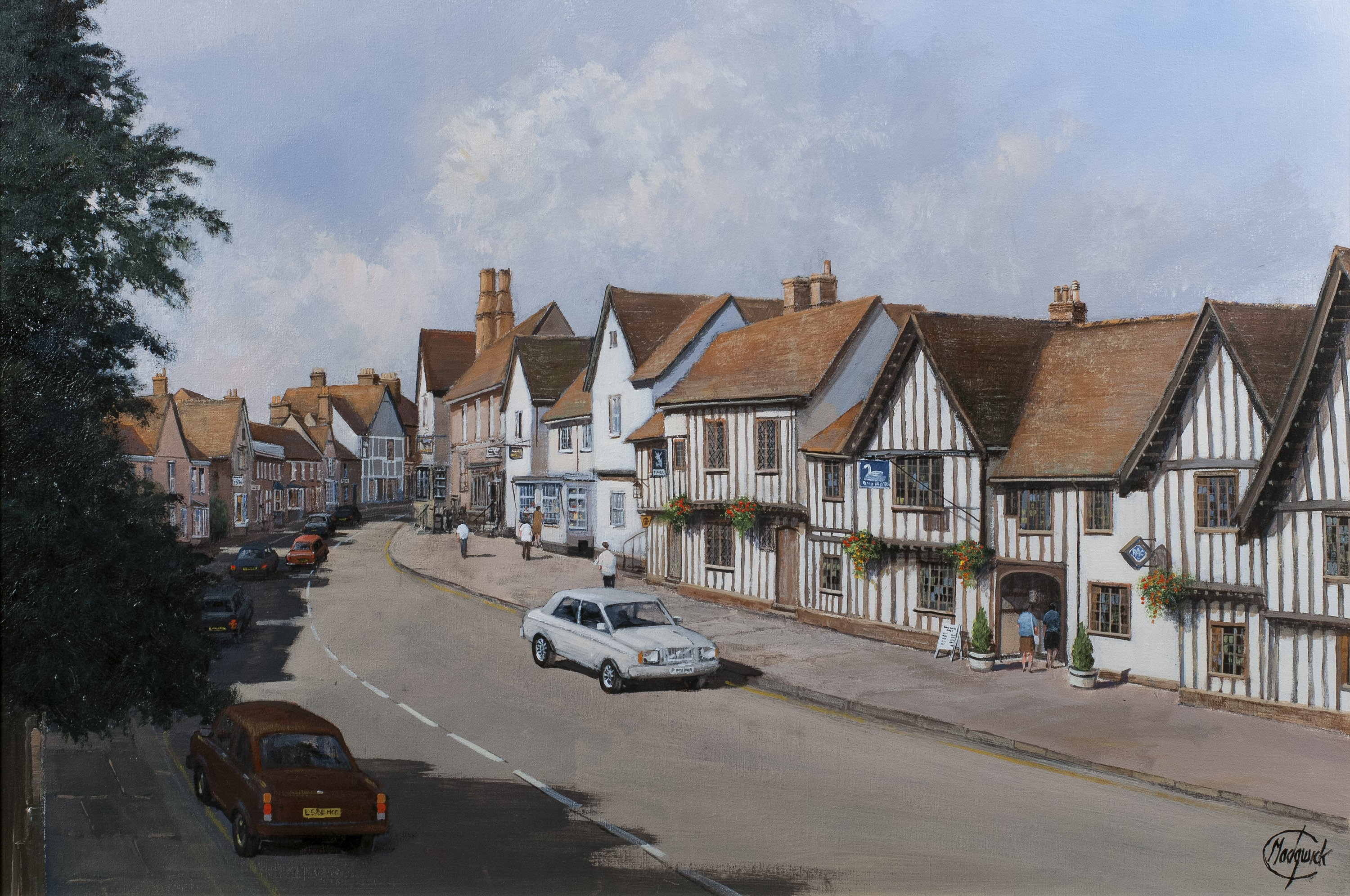The High Street, Lavenham, Suffolk - SOLD