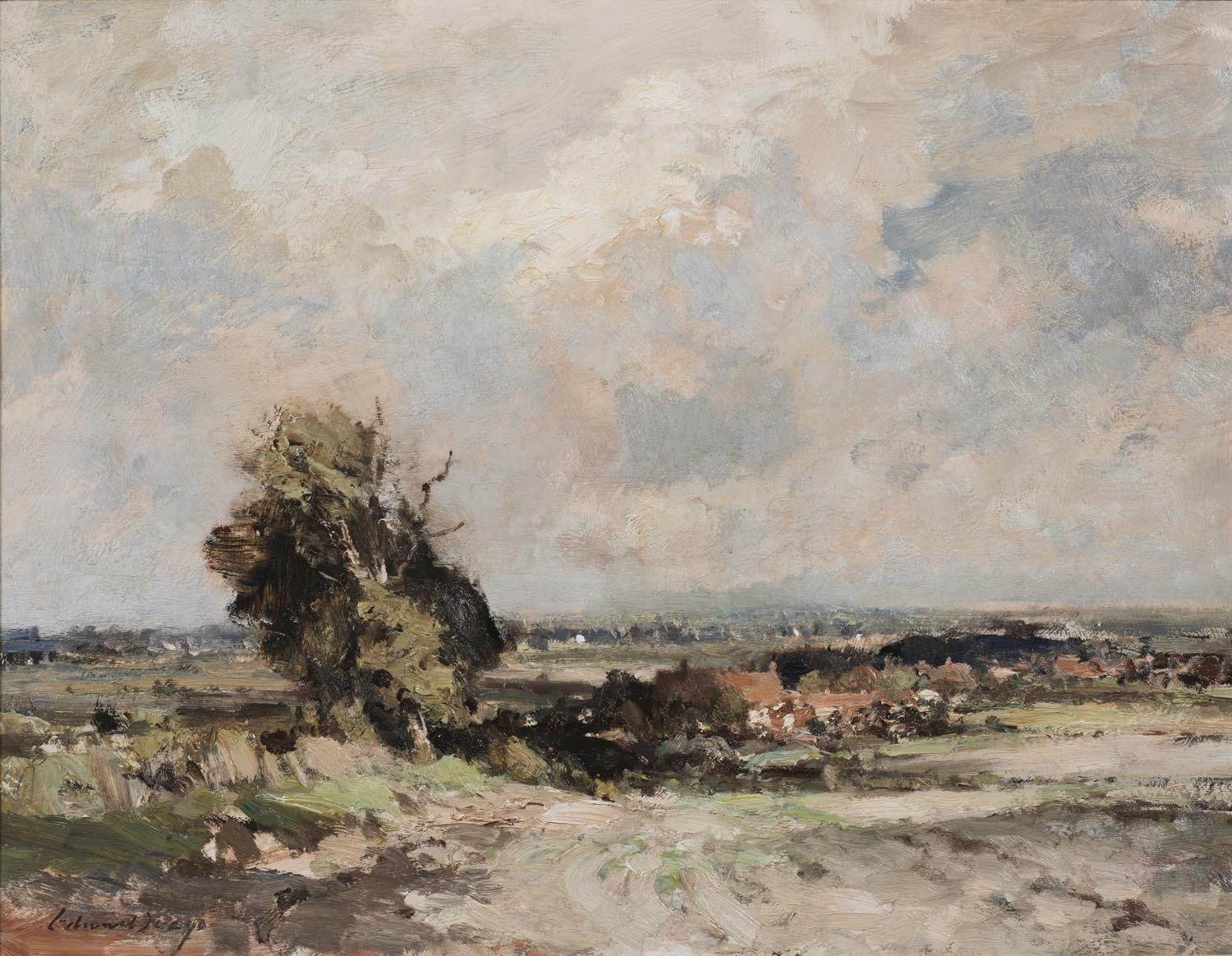 Landscape at Martham, Norfolk