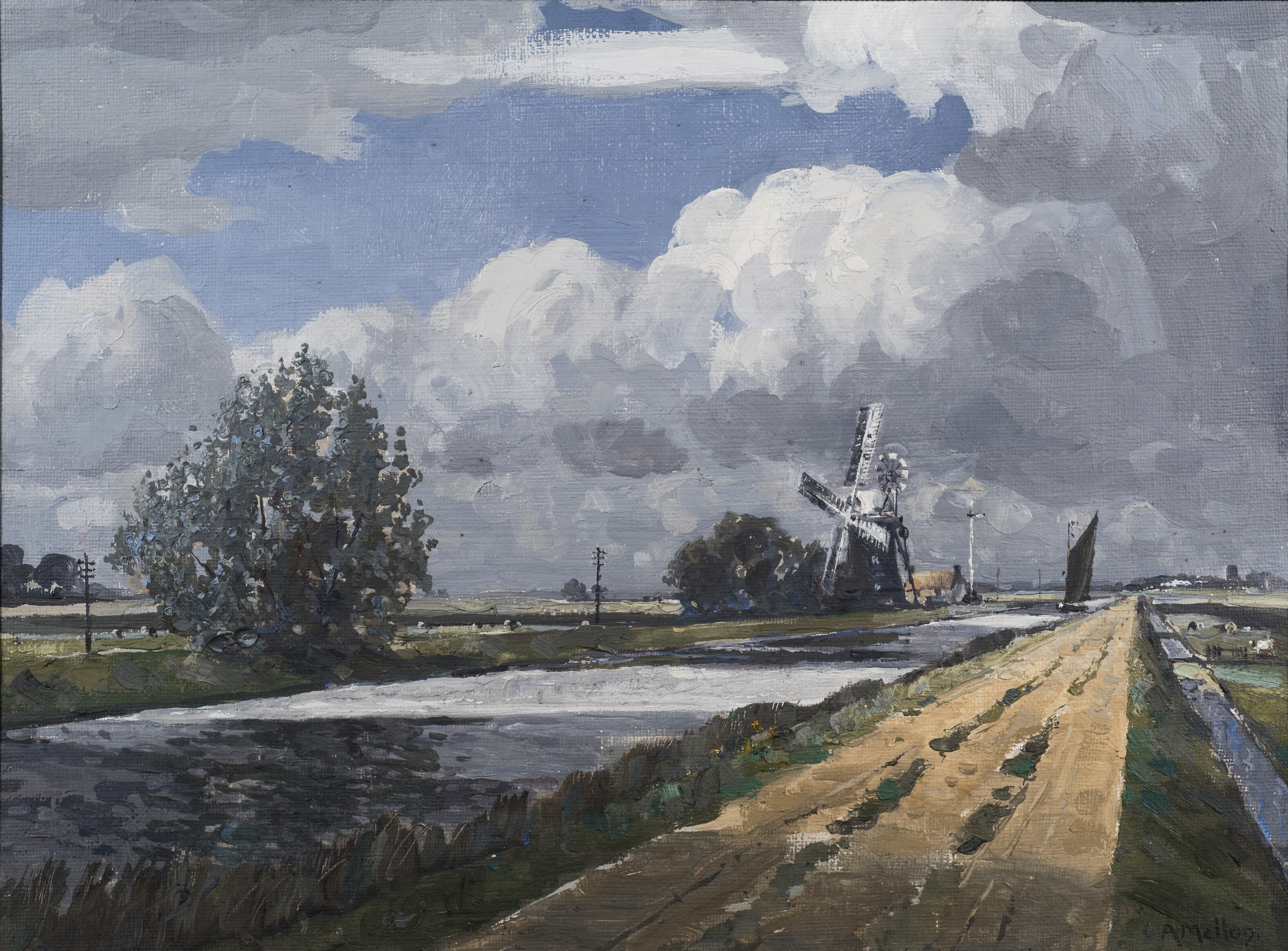 Approaching Storm, The New Cut, Haddiscoe
