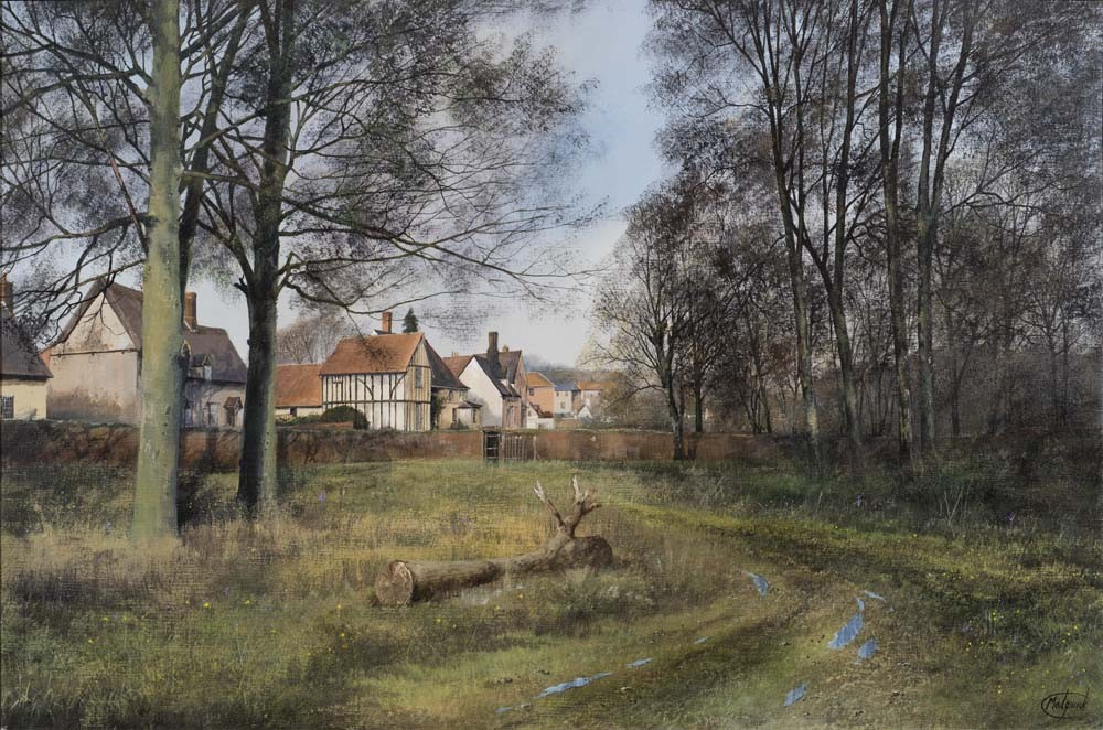 Spring Morning at Chelsworth, Suffolk - ON SALE