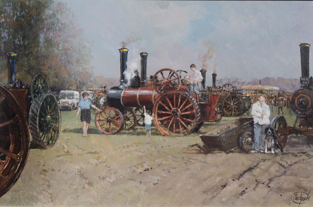 The Steam Rally - SOLD