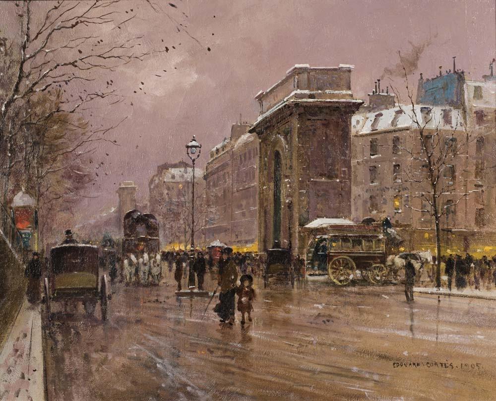 Porte Saint Martin, 1905