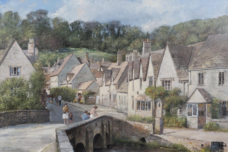 Castle Coombe Village & Bybrook River, Wiltshire - ON SALE
