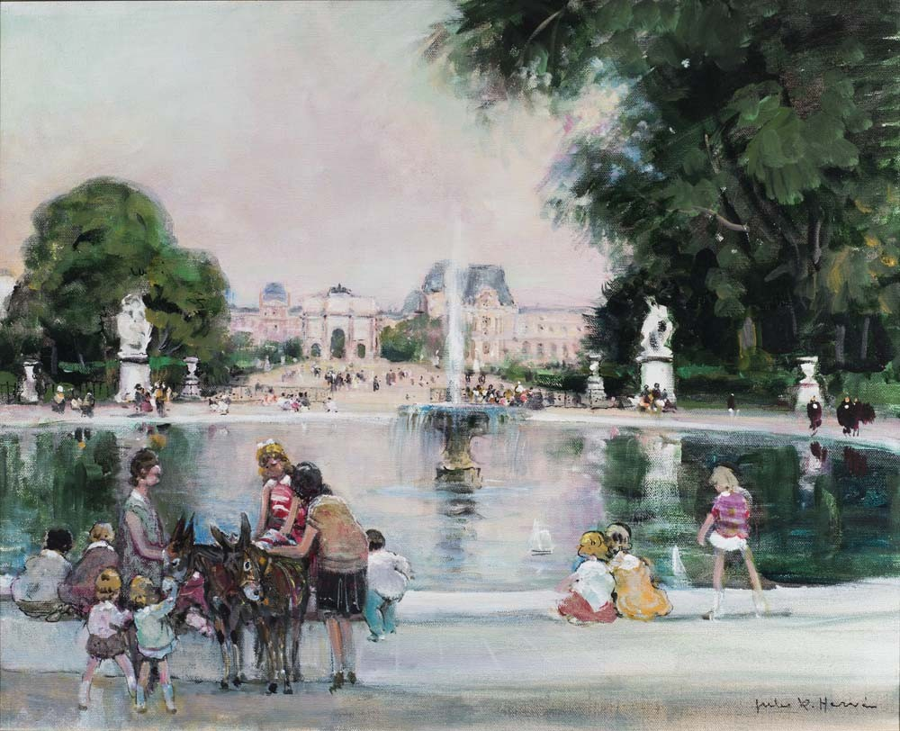 Grand Basin Rond, Jardin Tuileries, Paris