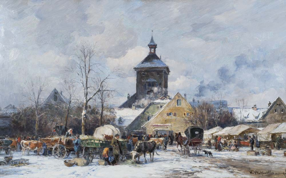 A Winter Market
