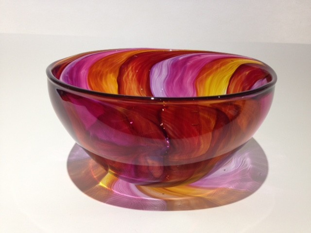 Fruit Tingle Bowl Red Mauve