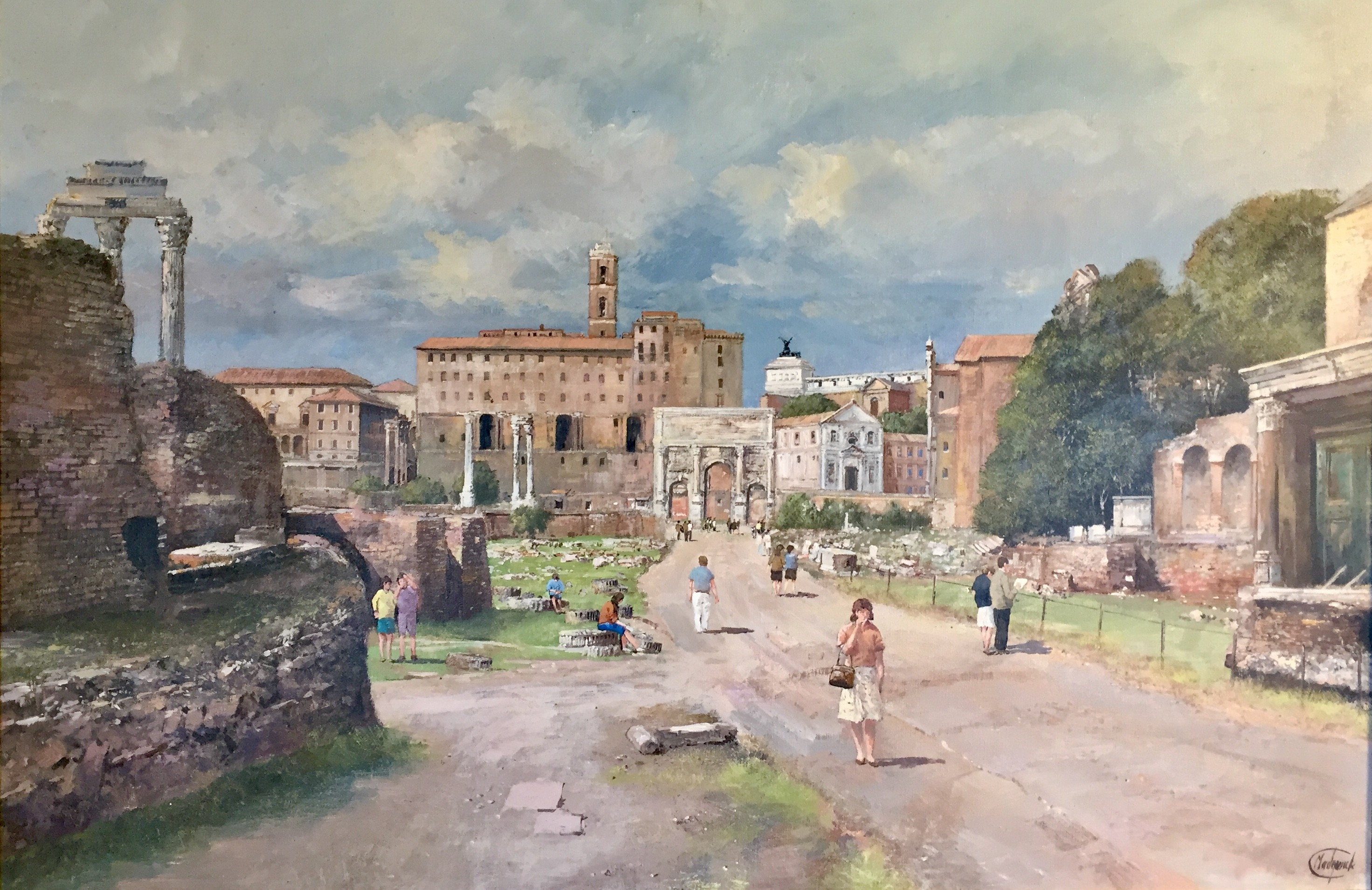 The Roman Forum - SOLD