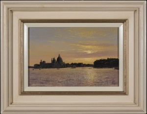 View of San Giorgio in the Evening, Venice - SOLD