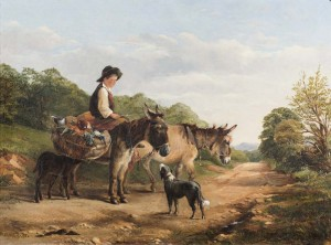 A Country Path - SOLD