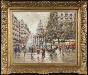 La Pantheon en 1900, Paris