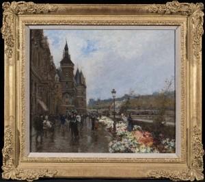 The Flower Market, Quai L'Horage, Paris