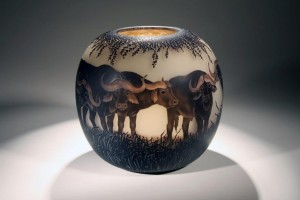 Buffalo Bowl Dated 2009