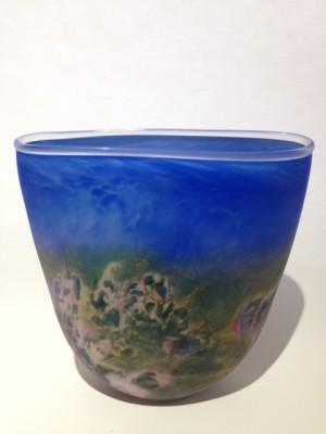 Stormy Weather Vase