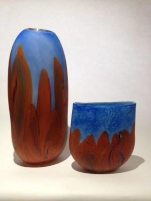 Tall Olgas Vase