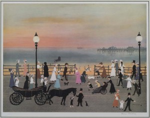 Evening on the Promenade - SOLD