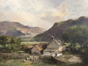 Farm Steading with Sheep, Scotland - SOLD