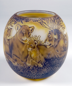 Lion Bowl Dated 2009