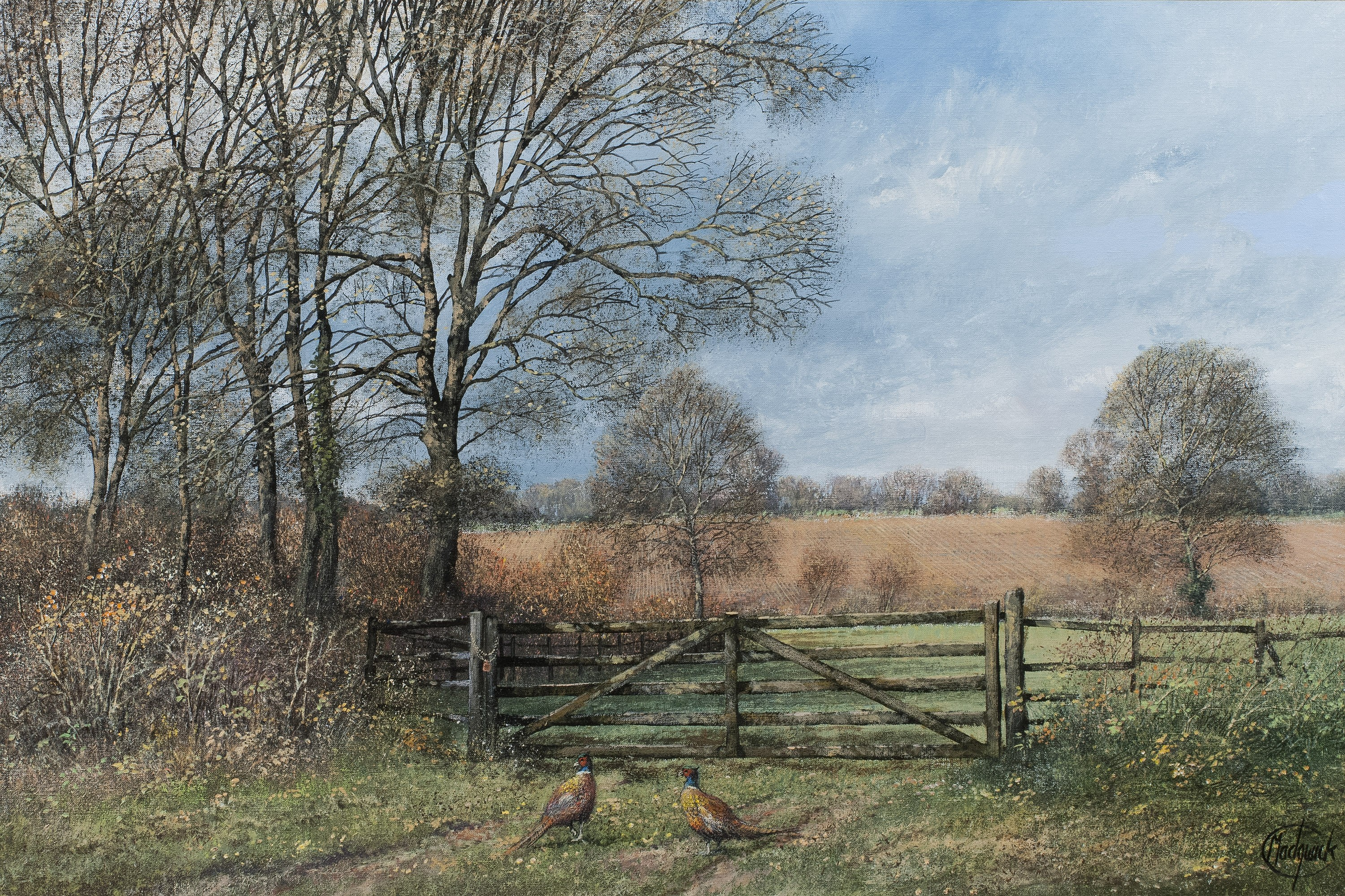 The Two Pheasants - SOLD