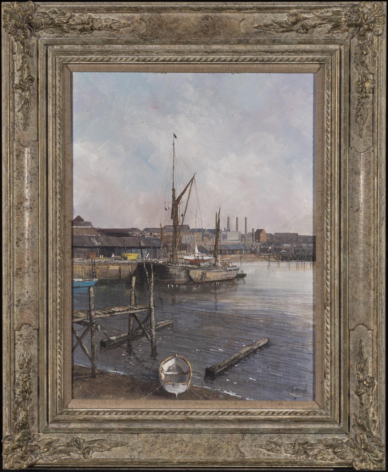Low Tide, St Clement's Dock, Ipswich - SOLD