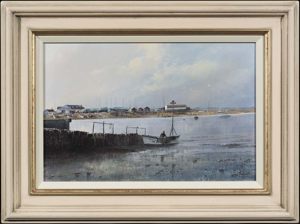 The Coast at Walberswick, Suffolk - SOLD