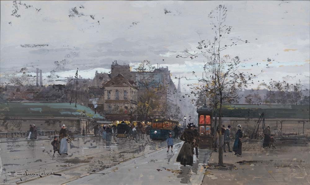 Porte de Chatillon, Paris