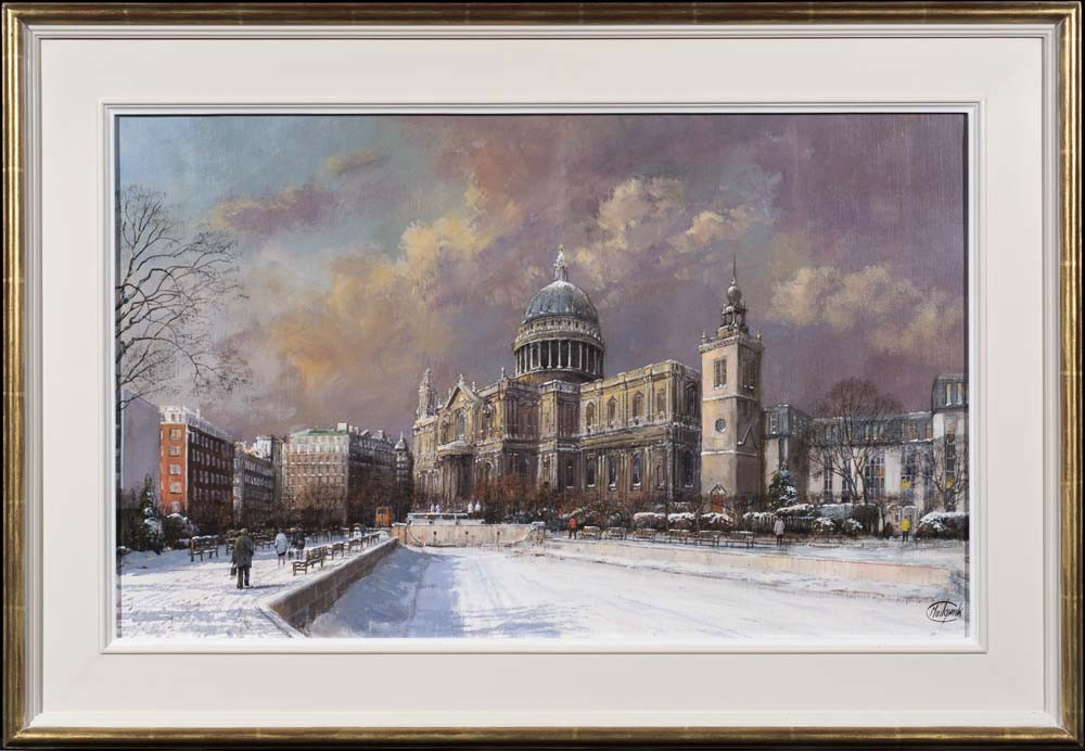 Winter Snow, St Pauls Cathedral - SOLD