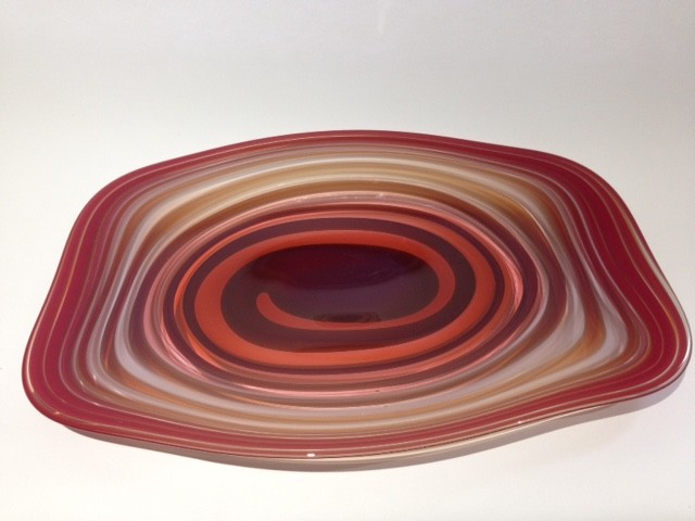 Red Centrifugal Platter