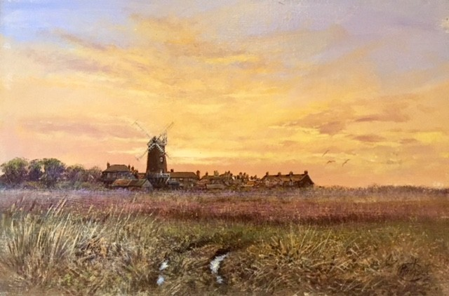 Cley Mill, Norfolk Landscape - SOLD