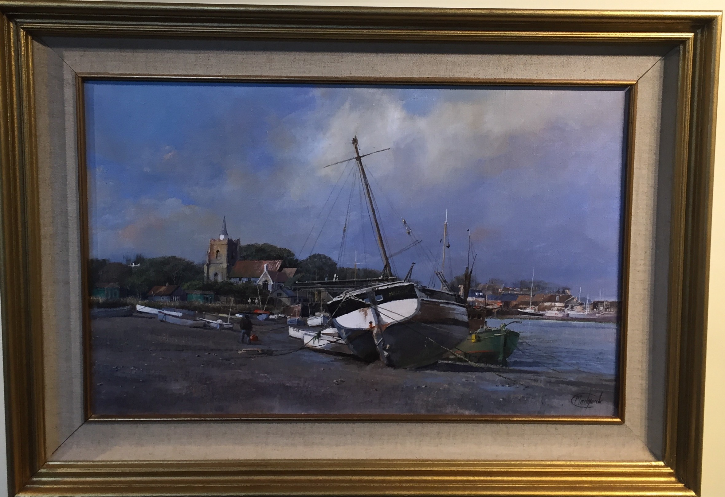 Low Tide, Maldon, Essex - SOLD