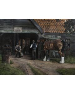 The Blacksmith, T O Sprigs - SOLD