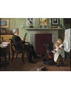 In Father's Study