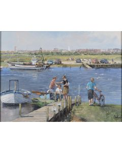The Ferry at Walberswick, Suffolk - SOLD