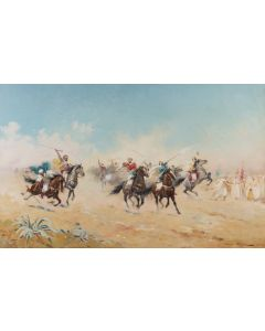 A Cavalry Charge