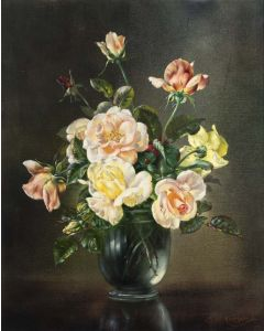 Still Life with Roses - SOLD